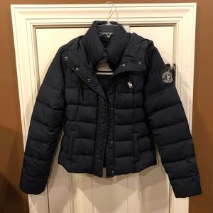 Abercrombie & Fitch Feather Down Puffer Jacket